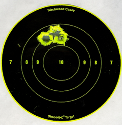 Scorpion PT Gold grouping